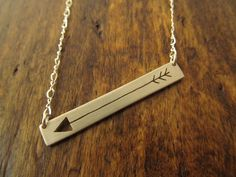 The Silver Arrow Necklace - Sterling Silver Jewelry