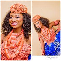 SpicyInc Photography Nigerian Wedding: 20 Beautiful Rivers/ Ijaw Brides, Their Style, & Their Flawless Makeovers | Nigerian Wedding
