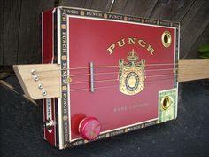 Punch (red) Cigar Box Guitar. $124.99, via Etsy.