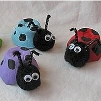 Egg Carton Crafts For Kids. How To Make Your Egg Carton Spider Craft. Egg Carton Sewing Kit By . Kids Crafts, Spring Crafts For Kids, Craft Activities For Kids, Summer Crafts, Toddler Crafts, Crafts To Do, Art For Kids, Craft Projects, Arts And Crafts