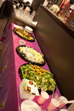 Vegan sushi and 118 raw vegan appetizers spread at the opening of my art show at Circa 92