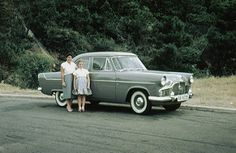 1958 approx: Ford Zephyr Mk. II, probably India