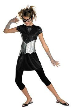 Spider Girl Black Suited 10-12