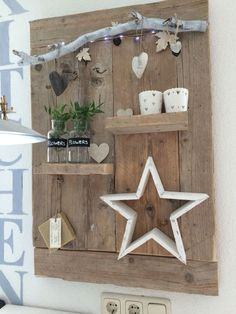 Crafts Rustic Steigerhouten bord Steigerhouten bord Steigerhouten bord The post Steigerhouten bord appeared first on Landhaus ideen. The post Steigerhouten bord appeared first on Wandgestaltung ideen. Pallet Crafts, Wood Crafts, Diy And Crafts, Wooden Scaffolding, Diy Projects Garage, Deco Champetre, English Country Decor, French Country, Diy Casa