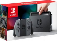 Play anywhere with this Nintendo Switch Neon Blue and Neon Red Joy-Con bundle. Dock this Nintendo Switch Neon Blue and Neon Red Joy-Con bundle to your TV for big-screen gaming. Nintendo Switch with Neon Blue and Neon Red Joy‑Con (Newest Model). Nintendo 3ds, Nintendo Switch System, Super Nintendo, Nintendo Consoles, Console Nintendo, Nintendo Eshop, Games Consoles, The Legend Of Zelda, Wii U