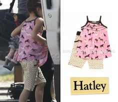 Suri; Brand: Hatley; Cost: Unknown; Horse Print Shorts Set