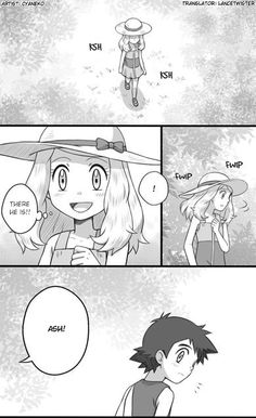 This is one of my favorite Amourshipping comics ^_^ ^.^ ♡