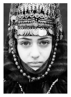 Armenian Girl and Traditional Outfit