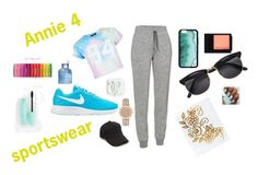 """annie bratayley outfit#4"" by basinillomarie on Polyvore featuring New Look, Icebreaker, NIKE, rag & bone, Dolce&Gabbana and Maybelline"