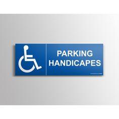 """Signalisation """"Parking Handicapés picto"""""""