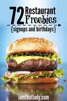 Going out to eat? Don't pay too much! Check out these restaurant freebies from both email signups and birthdays!