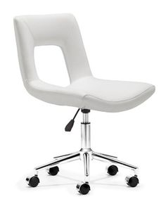 Modern office office  chair - Pin it :-) Follow us :-)) AzOfficechairs.com is your Officechair Gallery ;) CLICK IMAGE TWICE for Pricing and Info :) SEE A LARGER SELECTION of  modern office chair at http://azofficechairs.com/category/office-chair-categories/modern-office-chair/ - office, office chair, home office chair -  Zuo Modern Wringer Office Chair White « AZofficechairs.com