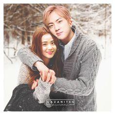 ♡ its christmas! Chanbaek, Bts Twice, Kpop Couples, Blackpink And Bts, Ji Soo, Worldwide Handsome, Bts Jin, Fanart, Bts Boys
