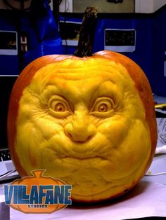 Pumpkin holding its breath