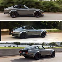 Rolling shots of @datlszguy and his 1/70 #datsun #240Z with 700whp. - @michaelblountjr_photography Tag a friend. What's in your garage? #s30 #carbonsignal #moonbeam #chevy #chevrolet #v8 #sevenkwheels #nopuristhere