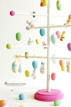 DIY - Easter Egg Tree