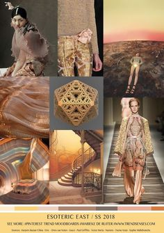 S/S 2018 colors trends: esoteric east