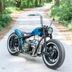 Ural engined Bobber?