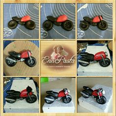 Fondant Motorcycle …