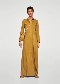 Discover the latest trends in Mango fashion, footwear and accessories. Shop the best outfits for this season at our online store. Panel Dress, Mango Fashion, Fashion Online, Evening Dresses, Latest Trends, Glamour, Gowns, Street Style, Fashion Clothes
