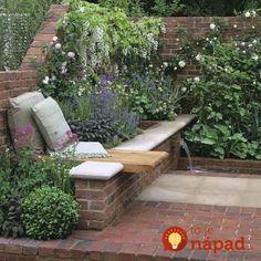 Títo ľudia si svoje záhrady vylepšili pomocou obyčajných tehál: Tieto prekrásne zákutia vám bude závidieť celá ulica!