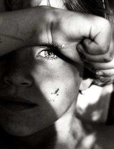 Beauty in the eyes