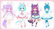 Fluffian Adoptables! [CLOSED] by Shiina-Yuki