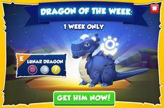 Shoot For the Moon: Breeding Lunar – Dragon Mania Legends New Dragon, Mlp, Legends, My Little Pony