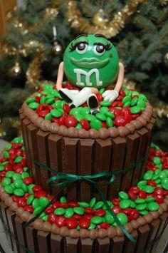m12 Bolo M&M pra se divertir e se deliciar!!!!