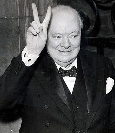 Churchill - one of my heroes