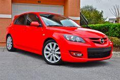 Red MazdaSpeed 3