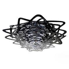 Plafonnier Noir Aurora Slamp - konceptdesign.fr
