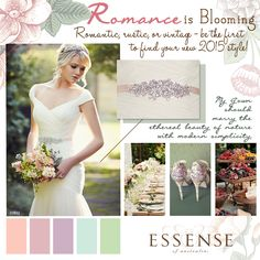 Sneak Peek of Vintage inspired Essense of Australia wedding dress from the Spring 2015 Collection! #Essense #WeddingDress