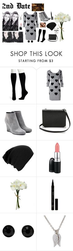 """""""Second Date With Luke"""" by mary-5so1ds ❤ liked on Polyvore featuring Hue, Jil Sander, Alexander Wang, MAC Cosmetics, Givenchy, Minor Obsessions, 5sos and 5sosfam"""