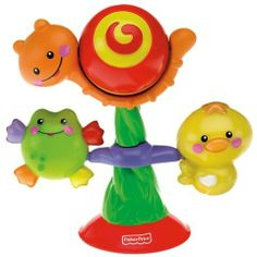 Fisher-Price Spin & Play Suction Cup Toy- 2 Designs available online at http://www.babycity.co.uk/