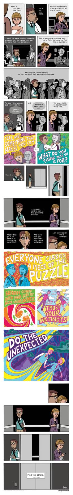 ZEN PENCILS » 102. TIMOTHY LEARY: You aren't like them