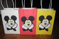 mickey mouse birthday goody bags | Buggy's Basement: Mickey Mouse/Minnie Mouse Birthday