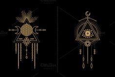 Mandala Set - Tribal Shaman - Illustrations