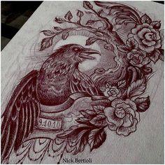 Done by Nick Bertioli. - THIEVING GENIUS