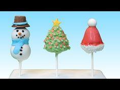 Weihnachtliche Lebkuchen- Cake Pops - YouTube