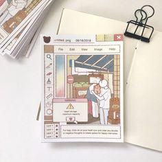 Heart storage art print Source by etsy storage Journal Aesthetic, Aesthetic Art, Aesthetic Anime, Bullet Journal Books, Book Journal, Bullet Journal Inspiration, Sticker Design, Cute Drawings, Cute Art