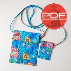 Updated pattern  messenger bag sewing by SchoolhousePatterns, $7.00