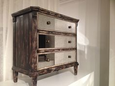 This rustic chic chest adds an understated glamour to any room. #Pulaski #Accents #hpmkt