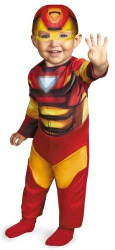 Costumes For All Occasions DG43728W Iron Man Infant 12-18Mo @ niftywarehouse.com