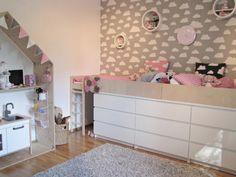 DIY Storage Bed - katsaus tyttöjen uudistuneeseen huoneeseen