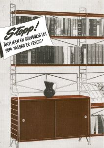 1953  string releases the standalone string shelf. Nils never likes it.