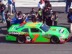Danica Patrick - Daytona NASCAR Nationwide Series Qualifying.