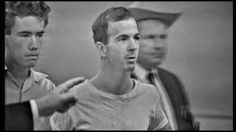 11-22-63: Lee Harvey Oswald at the Dallas Police Station.