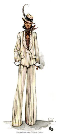 Woman. Suit - Nicole Guice