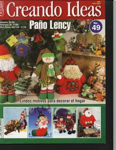 Album Archive - Creando Ideas No. Frugal Christmas, Christmas Books, Christmas Crafts, Xmas, Christmas Ornaments, Book Crafts, Hobbies And Crafts, Felt Crafts, Crafts To Make